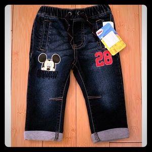 Mickey Hoodie & Jeans Bundle